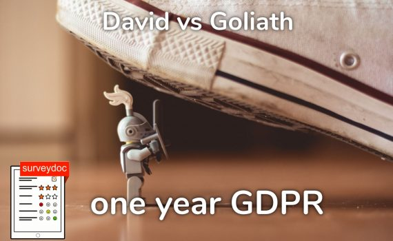 online survey tool surveydoc wins customer because of GDPR