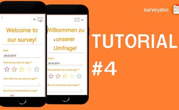 surveydoc Video-Tutorial: Mehrsprachige Umfragen
