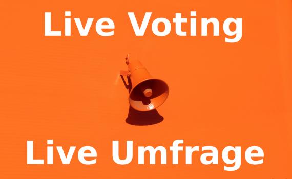 Live Abstimmung mit surveydoc